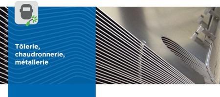 Les secteurs d'activités de MECABOURG #4 : Tôlerie, chaudronnerie, métallerie