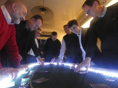 Repas du réseau: un grand succès pour le MECABOURG Poker Tour!