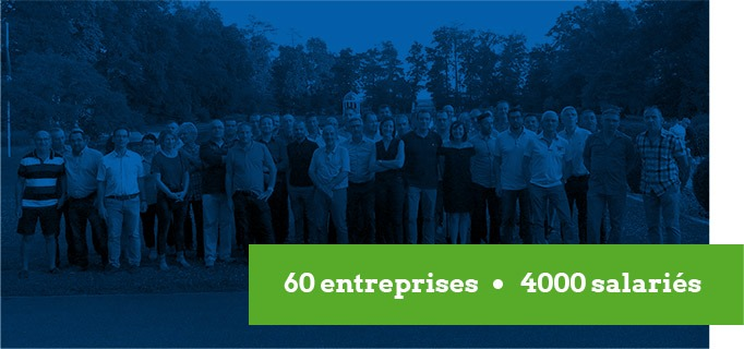 60 entreprises - 4 000 salariés