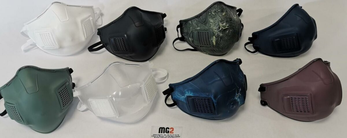 MG2 lance « Air Flow One », un masque made in Ain !