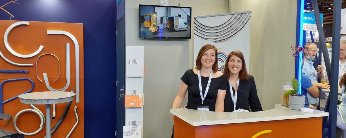 Les adhérents de Mecabourg au Global Industrie 2021 à Lyon